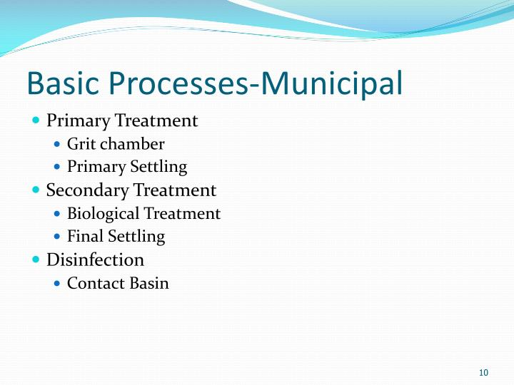 Basic Processes-Municipal
