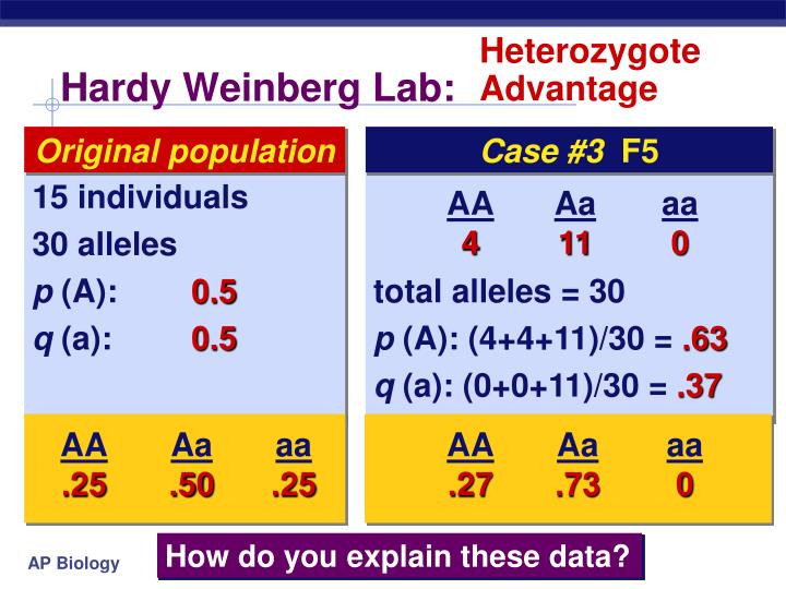 Heterozygote Advantage