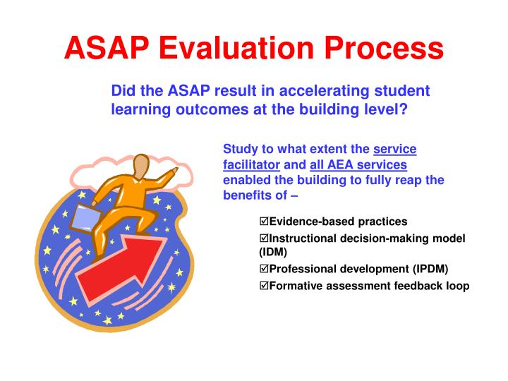 Asap evaluation process