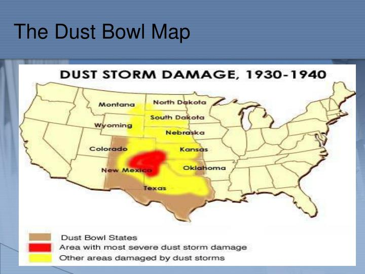 The Dust Bowl Map