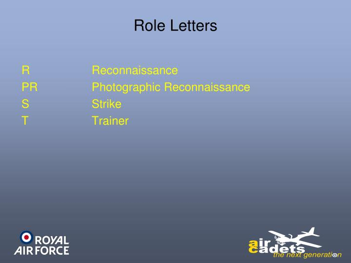 Role Letters