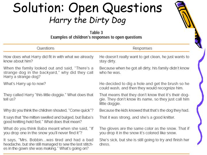 Solution: Open Questions
