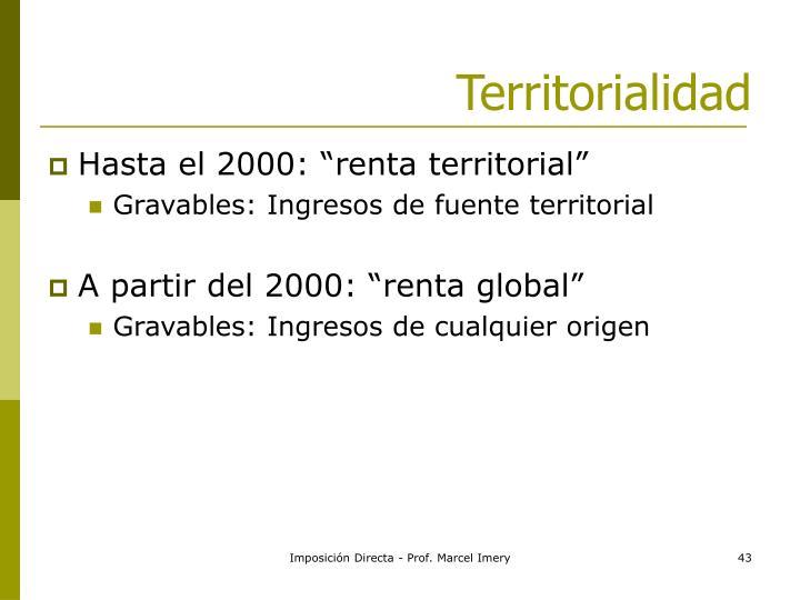 Territorialidad