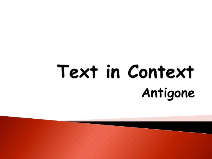 text context and intertextuality
