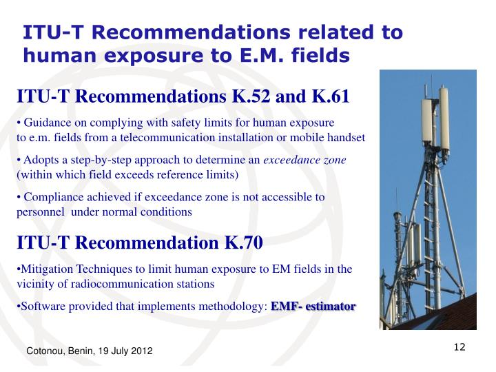 ITU-T Recommendations related to