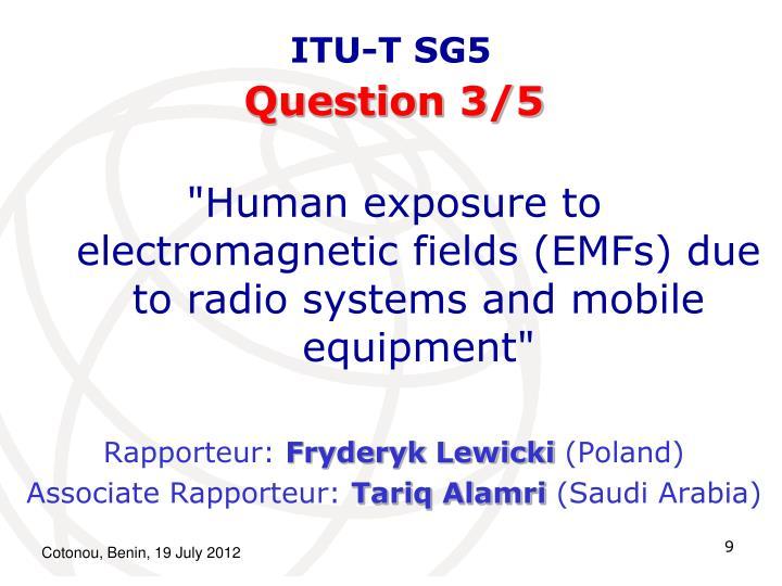 ITU-T SG5