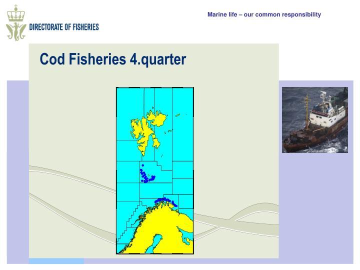 Cod Fisheries 4.quarter
