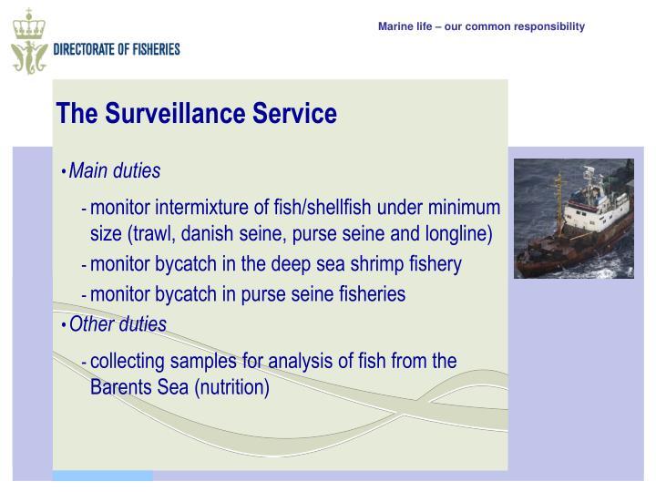 The Surveillance Service