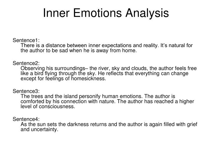 Inner Emotions Analysis