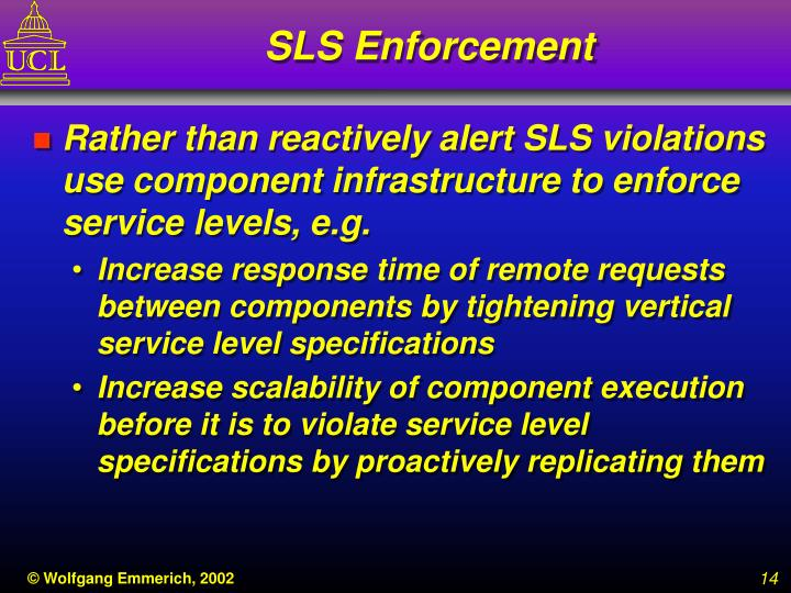 SLS Enforcement