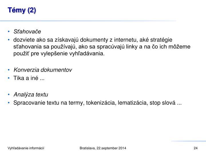 Témy (2)