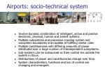 airports socio technical system