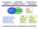 computational applied math domain science science computer science engineering