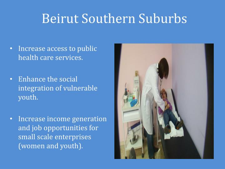 Beirut Southern Suburbs