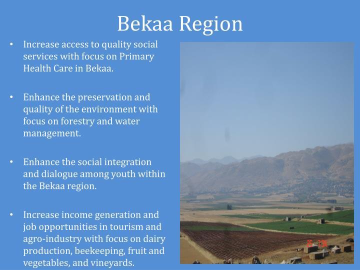 Bekaa Region