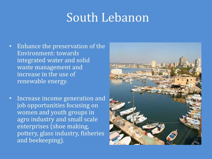 South Lebanon