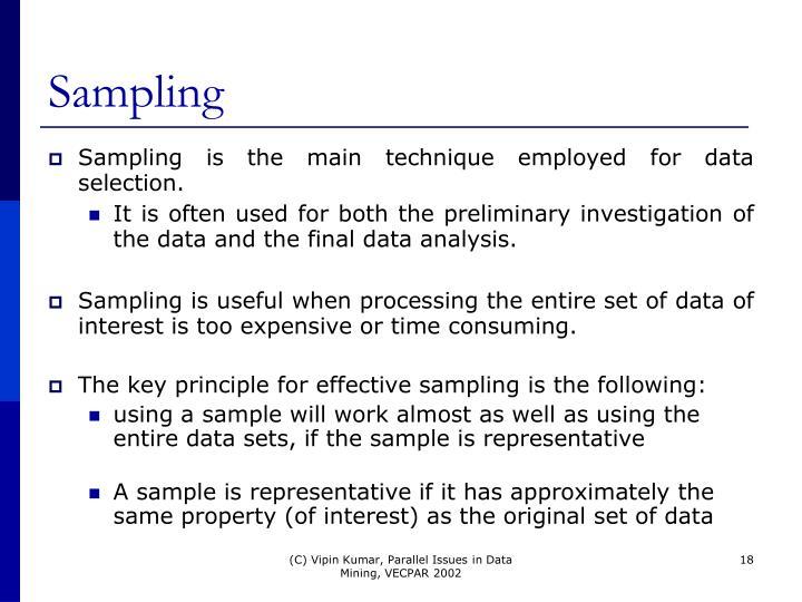 Sampling