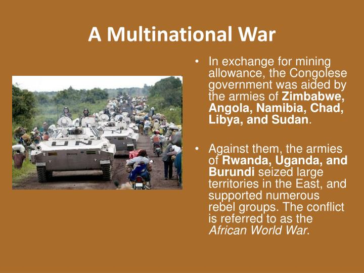 A Multinational War