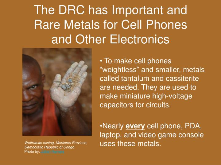 The DRC has Important and