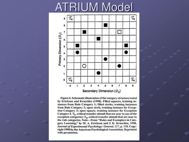 ATRIUM Model