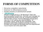 forms of competition