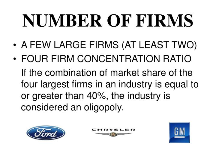 Number of firms
