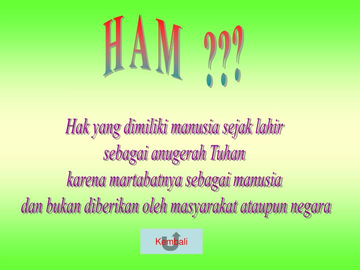 H A M   ???