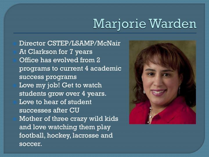 Marjorie Warden