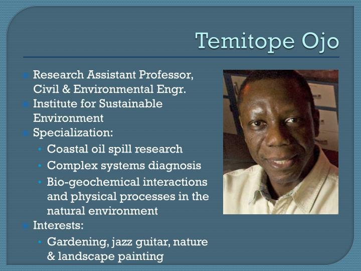 Temitope Ojo