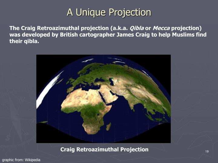 A Unique Projection