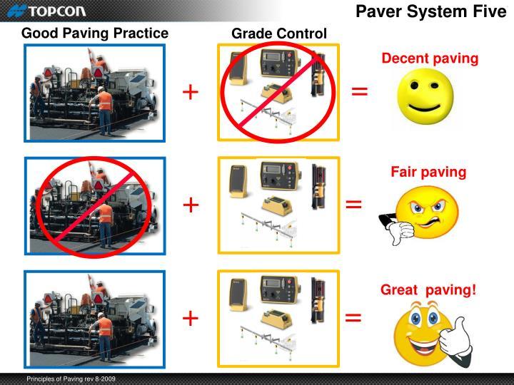 Paver System Five