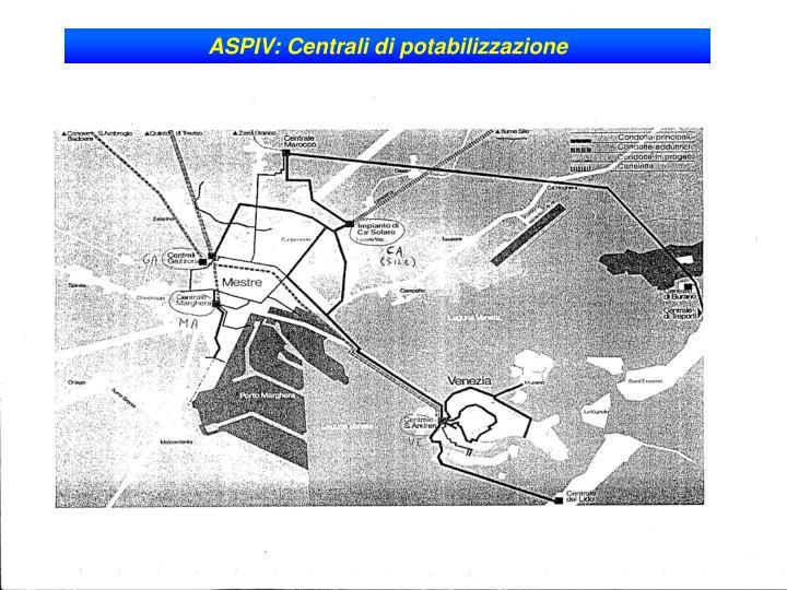 ASPIV: Centrali di potabilizzazione