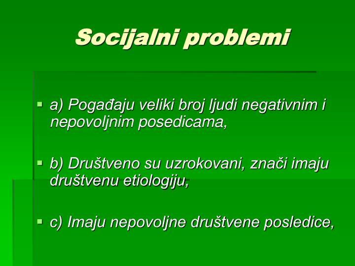 Socijalni problemi