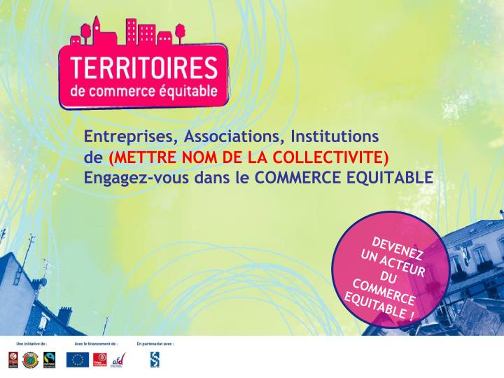 Entreprises, Associations, Institutions