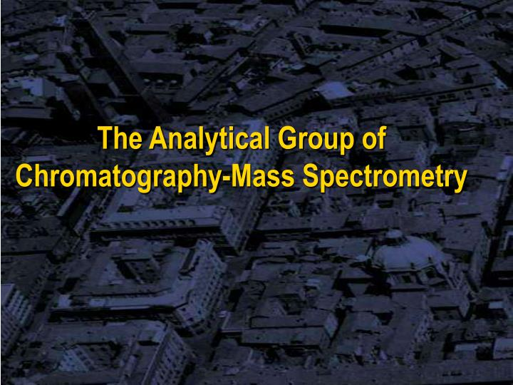 The Analytical Group of