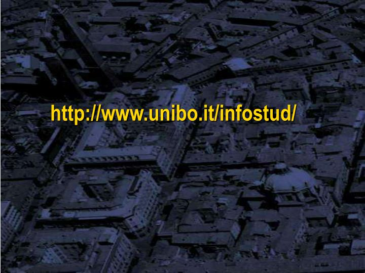 http://www.unibo.it/infostud/