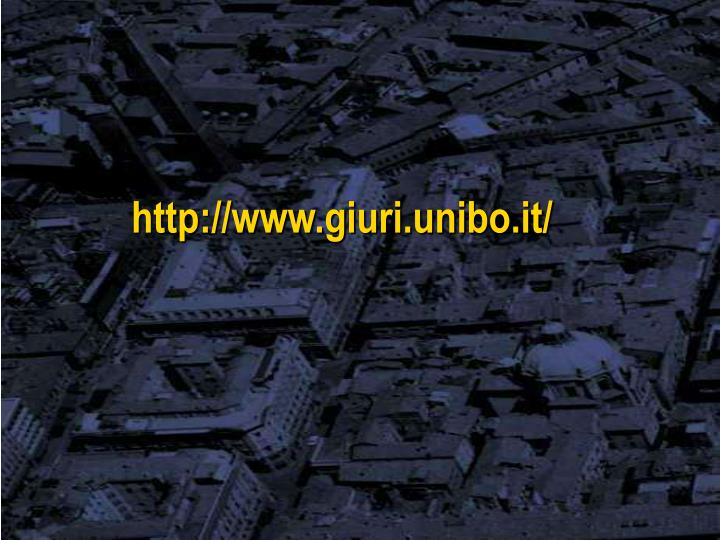 http://www.giuri.unibo.it/
