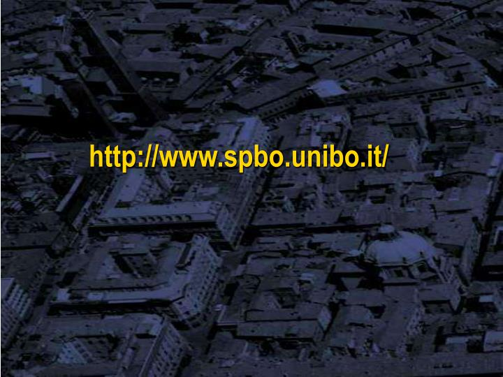 http://www.spbo.unibo.it/