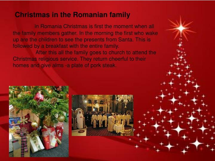 Christmas in the Romanian family