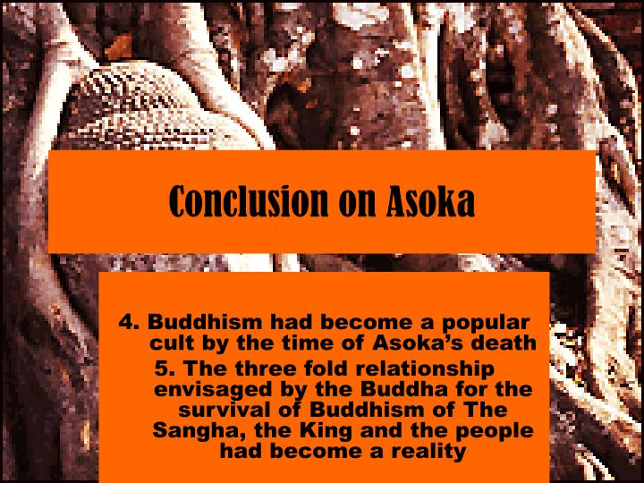 Conclusion on Asoka