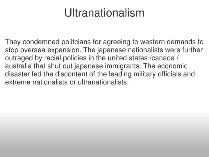 Ultranationalism