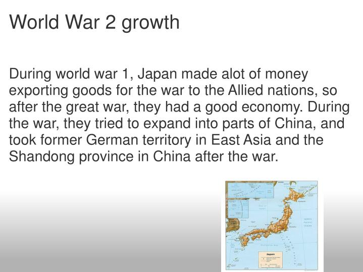 World War 2 growth