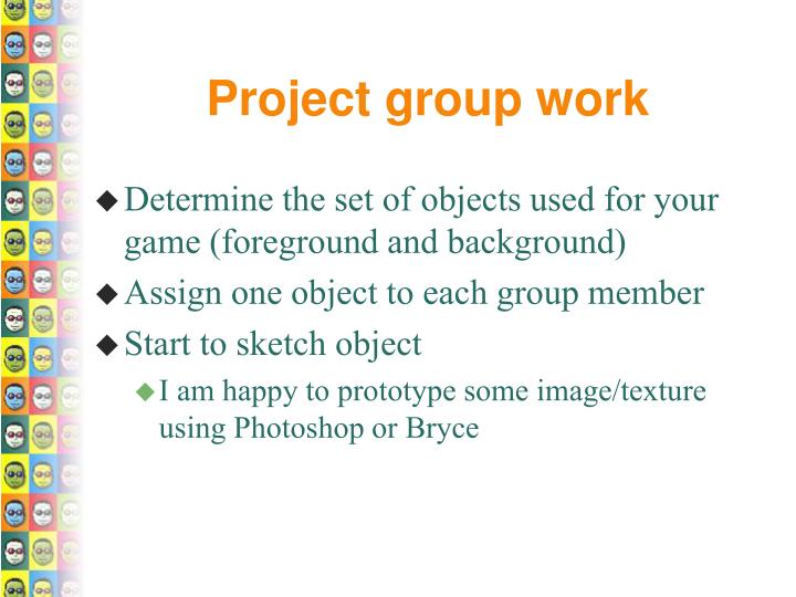Project group work