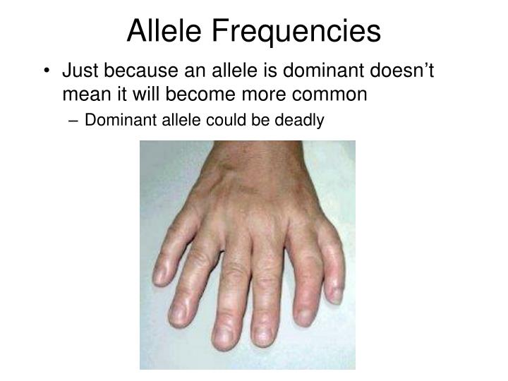 Allele Frequencies