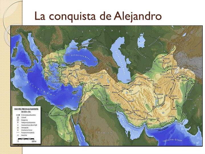 La conquista de Alejandro