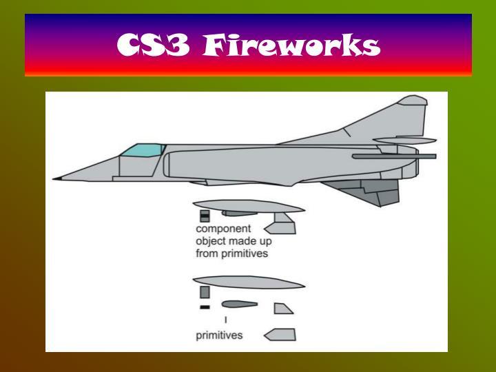 CS3 Fireworks