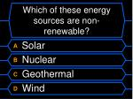 which of these energy sources are non renewable
