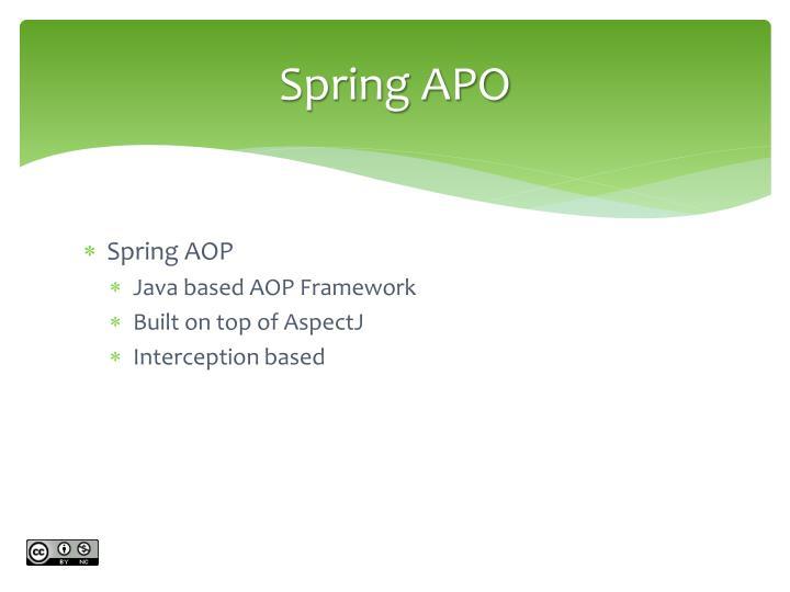 Spring APO