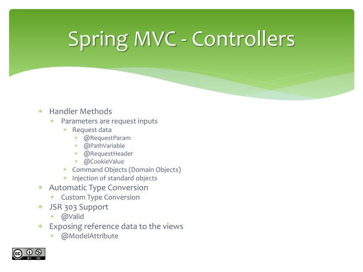 Spring MVC -