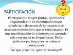 participaci n